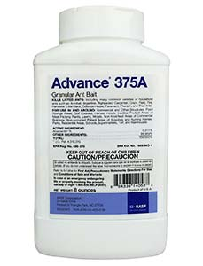 Advance 375a Granules with bait stations