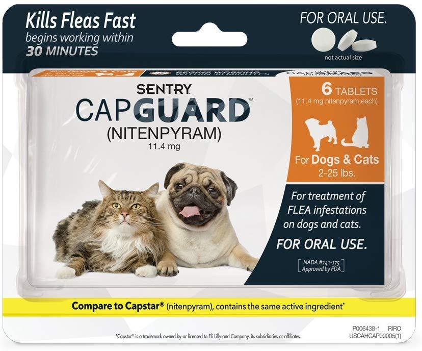 SENTRY Capguard Oral Flea Tablets