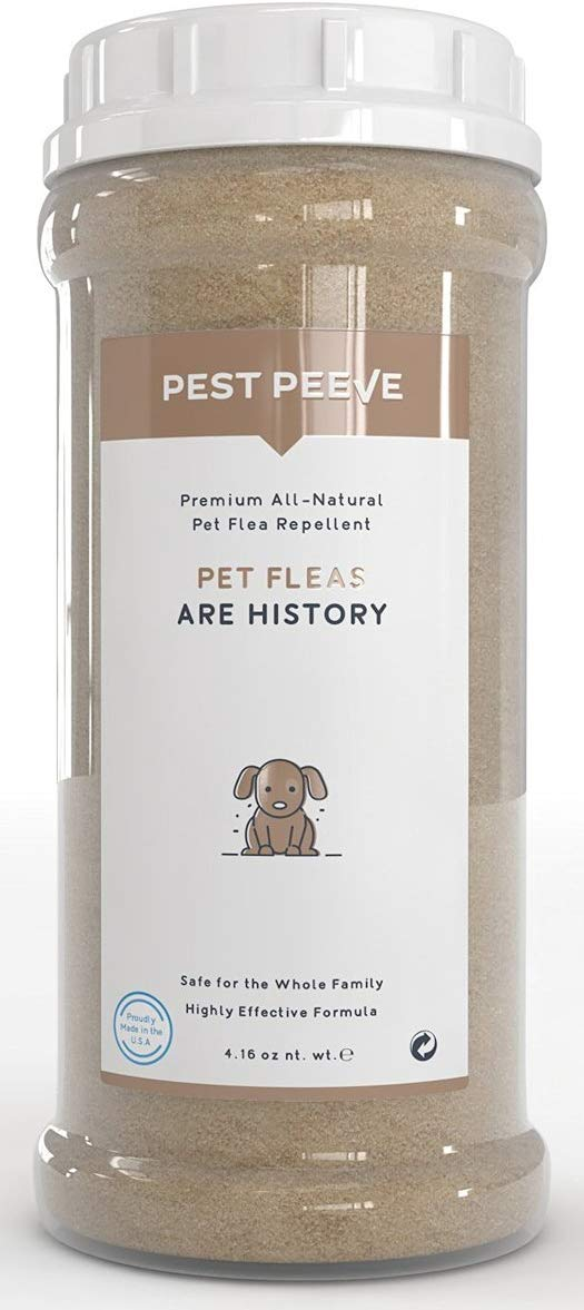 Pest Peeve - 100% Natural Flea and Tick Prevention Powder
