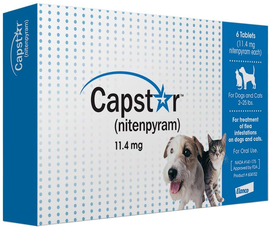 Novartis Capstar Flea Tablets for Dogs