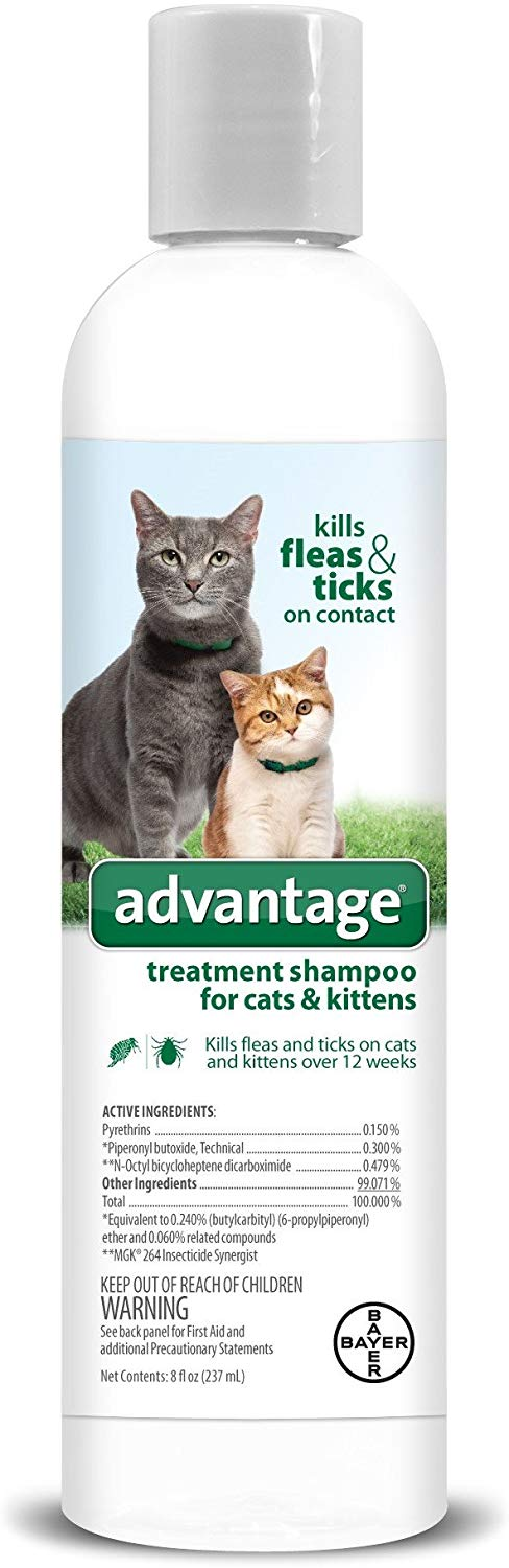 Advantage Shampoo Flea and Tick Treatment