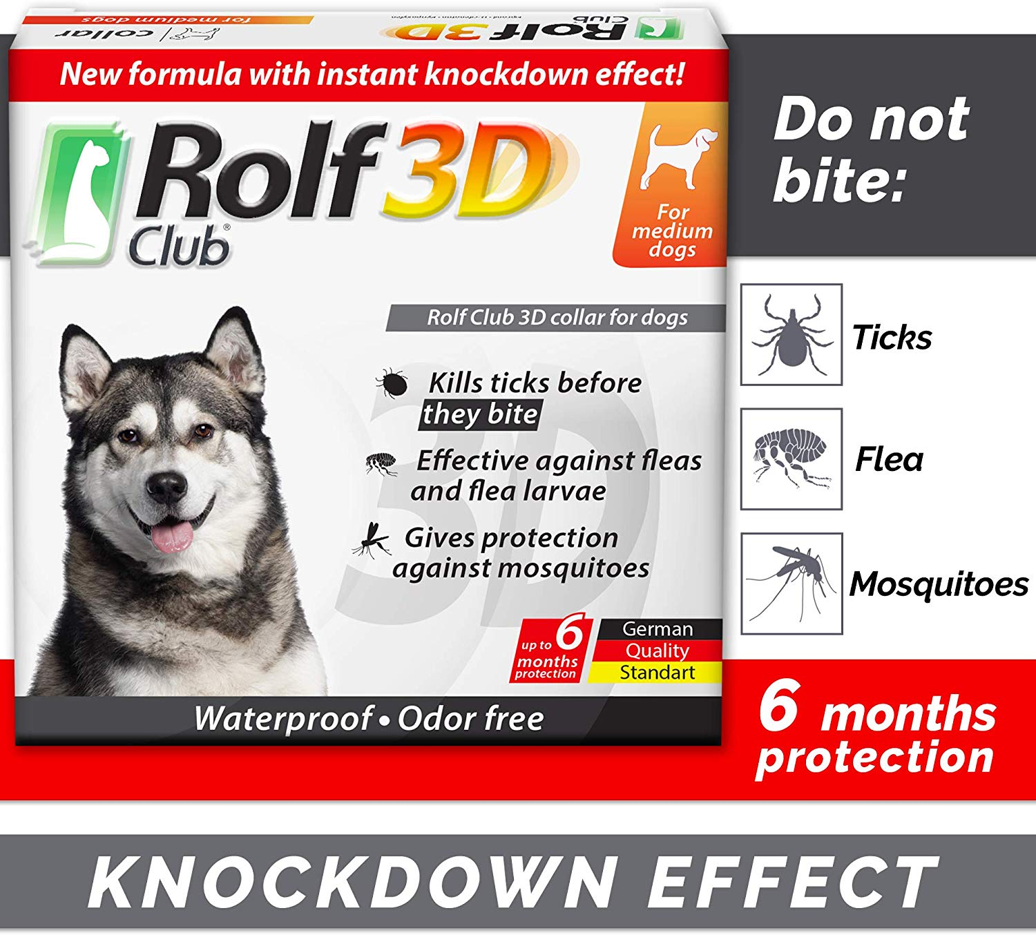 Rolf 3D Dog-flea-collar