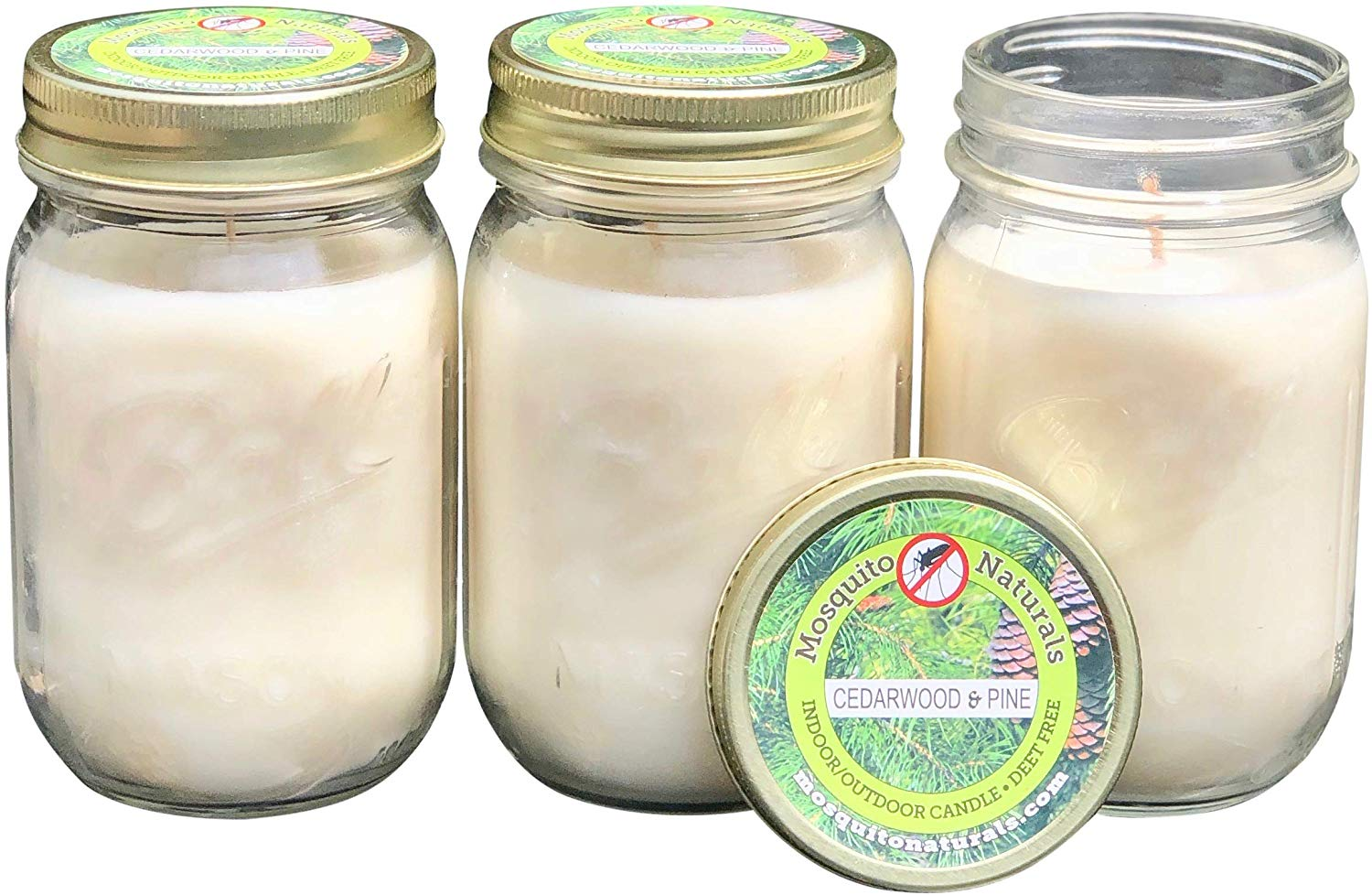 Mosquito Essential Oil Blend Candles