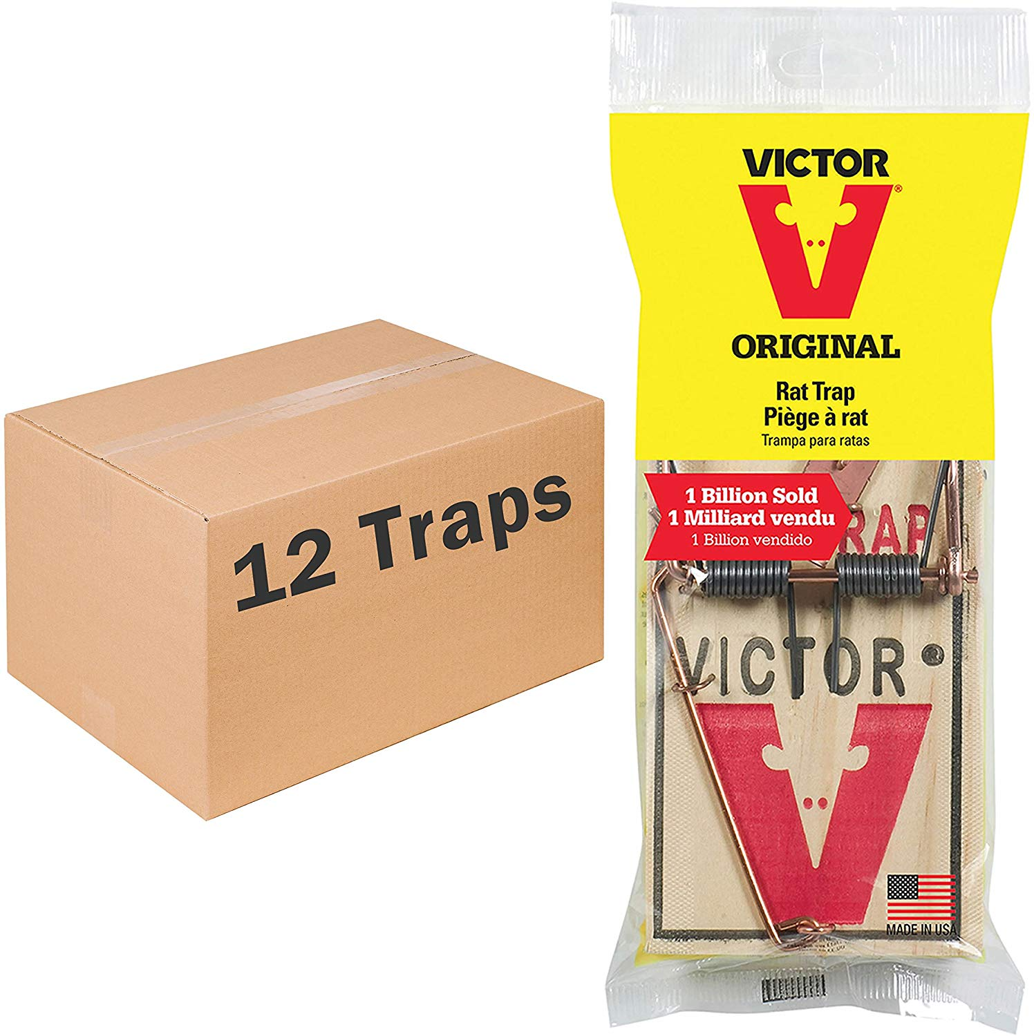 Victor Metal Pedal Rat Trap